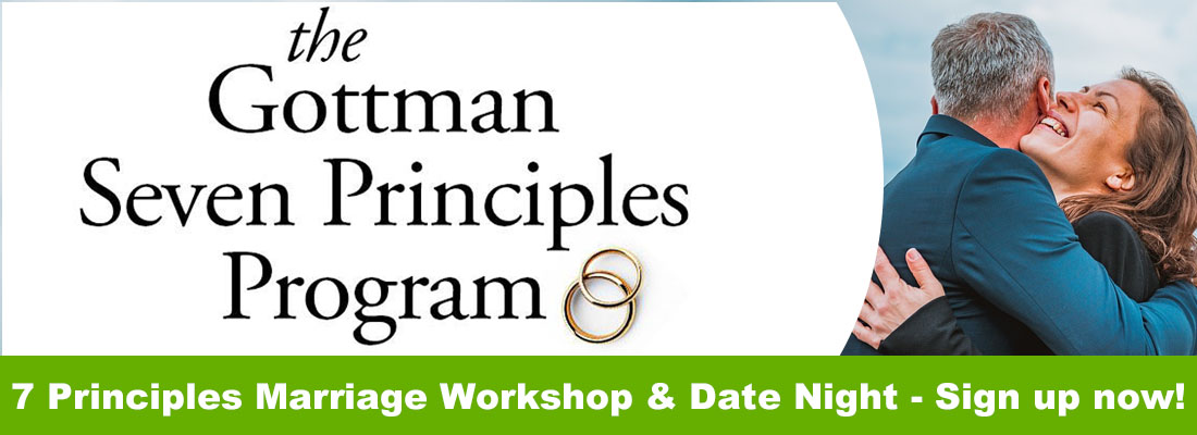 workshop and date night ad Wyndhurst counseling center Chuck Rodgers Trainer for the Gottman Seven Principles Program 1100